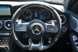 2020 Mercedes-Benz C-Class W205 800+050MY C63 AMG SPEEDSHIFT MCT S Black 9 Speed Sports Automatic