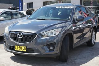 2012 Mazda CX-5 KE1021 Grand Touring SKYACTIV-Drive AWD Grey 6 Speed Sports Automatic Wagon