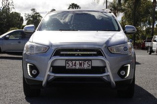 2015 Mitsubishi ASX XB MY15.5 XLS Cool Silver 6 Speed Sports Automatic Wagon