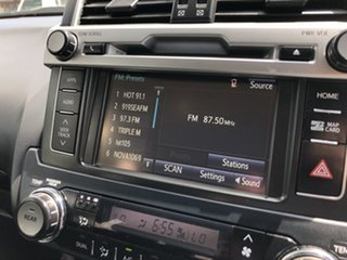 2017 Toyota Landcruiser Prado GDJ150R GXL Grey 6 Speed Sports Automatic Wagon