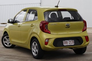 2019 Kia Picanto JA MY19 S Lime Green 4 Speed Automatic Hatchback