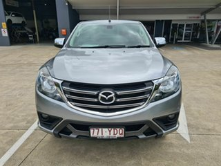 2018 Mazda BT-50 UR0YG1 XTR Freestyle Silver 6 Speed Sports Automatic Utility