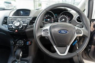 2017 Ford Fiesta WZ Sport PwrShift Brown 6 Speed Sports Automatic Dual Clutch Hatchback