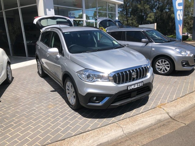 Demo Suzuki S-Cross JY Turbo Maitland, 2020 Suzuki S-Cross JY Turbo Silver 6 Speed Sports Automatic Hatchback