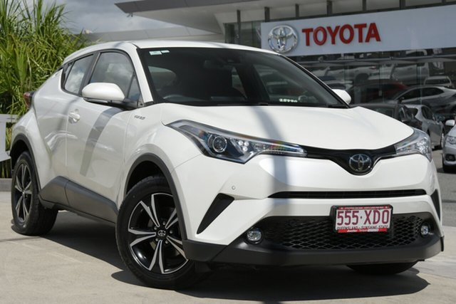 Pre-Owned Toyota C-HR NGX50R S-CVT AWD North Lakes, 2017 Toyota C-HR NGX50R S-CVT AWD Crystal Pearl 7 Speed Constant Variable Wagon
