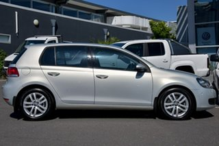 2010 Volkswagen Golf VI MY10 118TSI DSG Comfortline Silver 7 Speed Sports Automatic Dual Clutch.