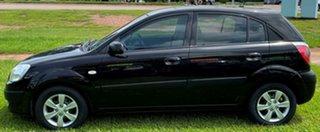 2009 Kia Rio JB MY09 LX Black 4 Speed Automatic Hatchback