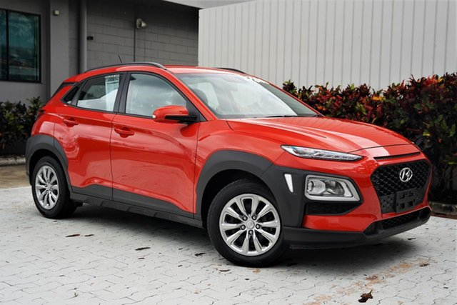 Used Hyundai Kona OS.2 MY19 Go 2WD Cairns, 2019 Hyundai Kona OS.2 MY19 Go 2WD Orange 6 Speed Sports Automatic Wagon