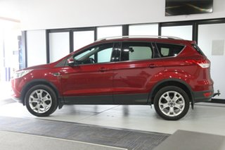 2016 Ford Kuga TF MY16.5 Trend PwrShift AWD Red 6 Speed Sports Automatic Dual Clutch Wagon