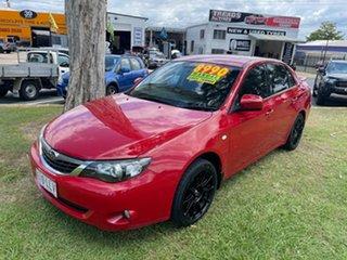 2009 Subaru Impreza G3 MY09 RX AWD Red 5 Speed Manual Sedan.