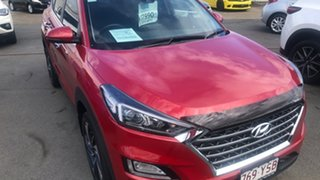 2018 Hyundai Tucson TLE3 MY19 Special Edition AWD Red 8 Speed Sports Automatic Wagon.