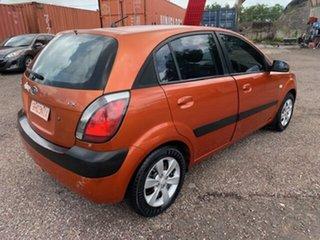 2007 Kia Rio LX Orange 5 Speed Manual Hatchback