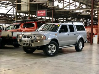 2003 Nissan Navara D22 MY2003 ST-R Silver 5 Speed Manual Utility.