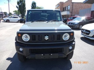 2021 Suzuki Jimny Medium Grey 5 Speed Manual 4x4 Wagon.