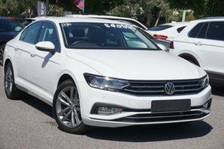 2019 Volkswagen Passat 3C (B8) MY20 140TSI DSG Business White 7 Speed Sports Automatic Dual Clutch.