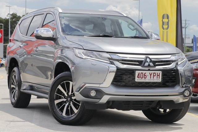Used Mitsubishi Pajero Sport QE MY18 Exceed Aspley, 2018 Mitsubishi Pajero Sport QE MY18 Exceed Grey 8 Speed Sports Automatic Wagon