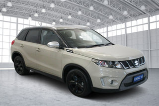 2018 Suzuki Vitara LY S Turbo 2WD Cream 6 Speed Sports Automatic Wagon.