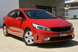 2017 Kia Cerato YD MY17 SI Red 6 Speed Sports Automatic Sedan.