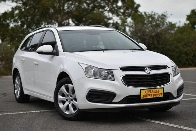 Used Holden Cruze JH Series II MY15 CD Sportwagon Enfield, 2015 Holden Cruze JH Series II MY15 CD Sportwagon White 6 Speed Sports Automatic Wagon