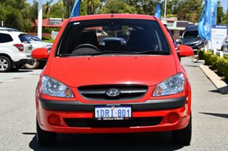 2011 Hyundai Getz TB MY09 S Red/Black 4 Speed Automatic Hatchback