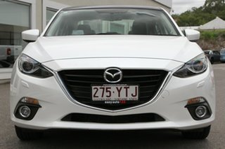 2016 Mazda 3 BM5236 SP25 SKYACTIV-MT White 6 Speed Manual Sedan
