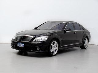 2007 Mercedes-Benz S500 221 07 Upgrade Black 7 Speed Automatic G-Tronic Sedan.
