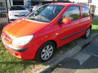 2006 Hyundai Getz TB Upgrade 1.6 Red 4 Speed Automatic Hatchback.
