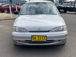 1996 Hyundai Excel LX Silver 4 Speed Automatic Hatchback