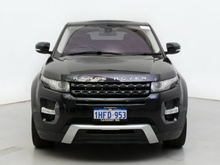 2012 Land Rover Range Rover Evoque LV TD4 Dynamic Sumatra Black 6 Speed Automatic Wagon.