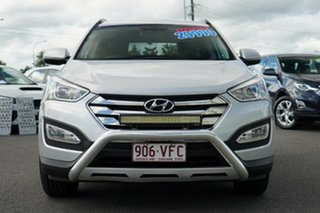 2014 Hyundai Santa Fe DM MY14 Elite Silver 6 Speed Sports Automatic Wagon.