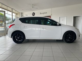 2013 Nissan Pulsar C12 ST-S White Continuous Variable Hatchback.