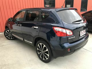 2012 Nissan Dualis J10W Series 3 MY12 Ti-L Hatch X-tronic 2WD Blue 6 Speed Constant Variable.