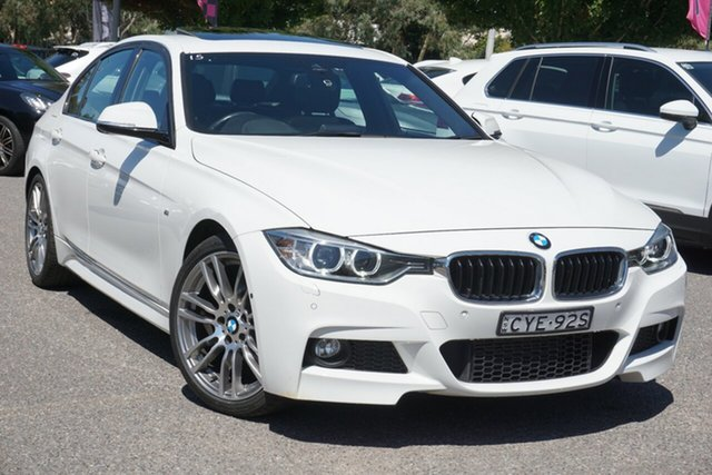 Used BMW 3 Series F34 MY1114 320i Gran Turismo M Sport Phillip, 2015 BMW 3 Series F34 MY1114 320i Gran Turismo M Sport White 8 Speed Sports Automatic Hatchback