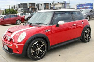 2005 Mini Hatch R53 MY05 Cooper S Red 6 Speed Manual Hatchback