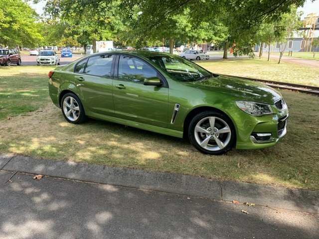 Used Holden Commodore VF II MY16 SV6 Launceston, 2016 Holden Commodore VF II MY16 SV6 Green 6 Speed Sports Automatic Sedan