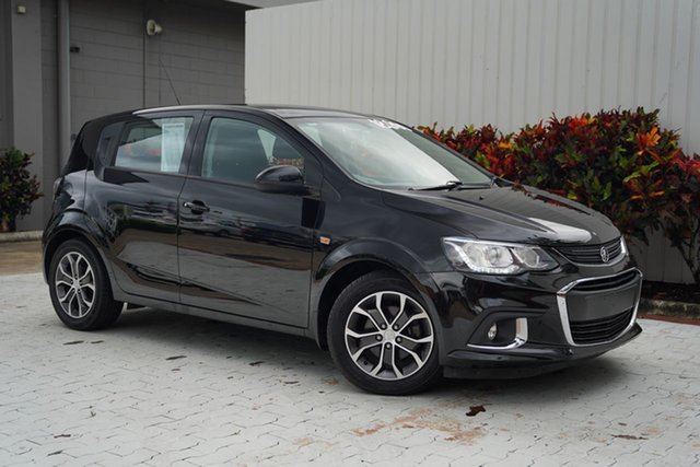Used Holden Barina TM MY17 LS Cairns, 2017 Holden Barina TM MY17 LS Black 6 Speed Automatic Hatchback