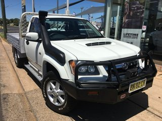 2011 Holden Colorado RC LX White Manual.