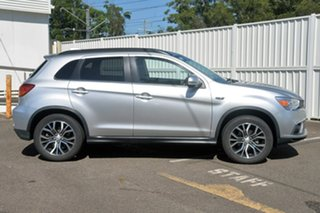 2018 Mitsubishi ASX XC MY18 LS 2WD ADAS Silver 1 Speed Constant Variable Wagon.