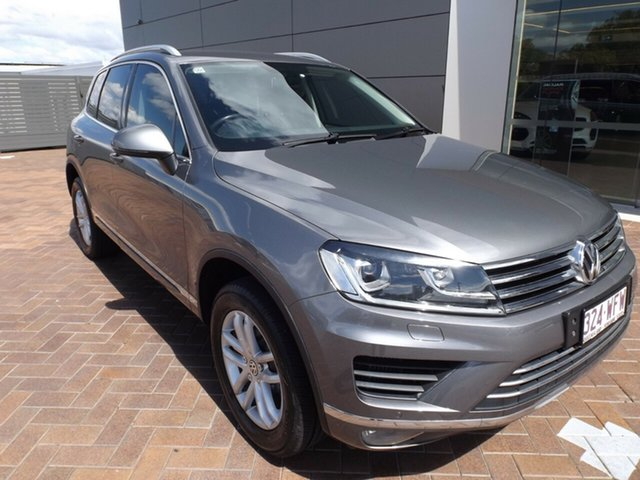 Used Volkswagen Touareg 7P MY16 150TDI Tiptronic 4MOTION Element Toowoomba, 2015 Volkswagen Touareg 7P MY16 150TDI Tiptronic 4MOTION Element 8 Speed Sports Automatic Wagon