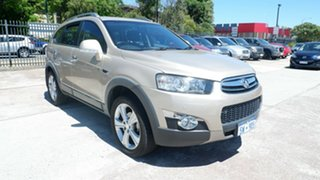 2012 Holden Captiva CG Series II 7 AWD LX Gold 6 Speed Sports Automatic Wagon.