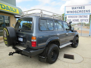 1992 Toyota Landcruiser HDJ80R GXL Blue 5 Speed Manual Wagon