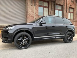 2014 Volkswagen Touareg 7P MY14 V8 TDI Tiptronic 4MOTION R-Line Black 8 Speed Sports Automatic Wagon