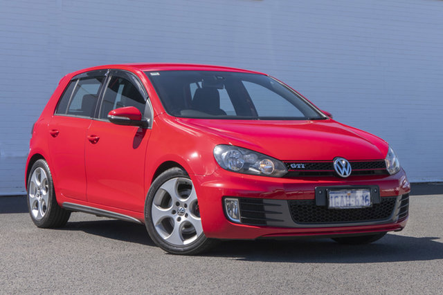 Used Volkswagen Golf VI MY12.5 GTI DSG Bunbury, 2012 Volkswagen Golf VI MY12.5 GTI DSG 6 Speed Sports Automatic Dual Clutch Hatchback