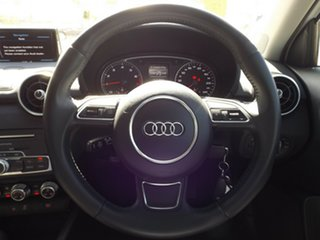 2015 Audi A1 8X MY15 Sport Sportback S Tronic White 7 Speed Sports Automatic Dual Clutch Hatchback