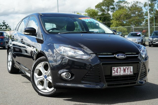 Used Ford Focus LW MkII Sport Hillcrest, 2013 Ford Focus LW MkII Sport Black/Grey 5 Speed Manual Hatchback