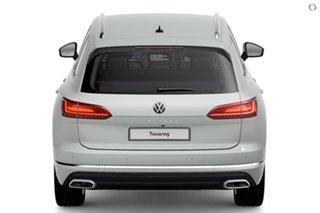 2021 Volkswagen Touareg CR 170TDI White Sports Automatic SUV.