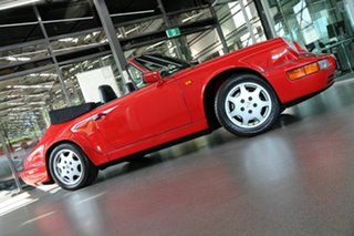 1990 Porsche 911 964 Carrera 2 Cabriolet Red 4 Speed Sports Automatic Convertible