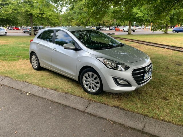 Used Hyundai i30 GD3 Series II MY16 Active Launceston, 2015 Hyundai i30 GD3 Series II MY16 Active Sleek Silver 6 Speed Sports Automatic Hatchback