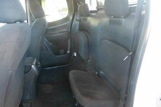2015 Nissan Navara D23 ST King Cab White 6 Speed Manual Utility