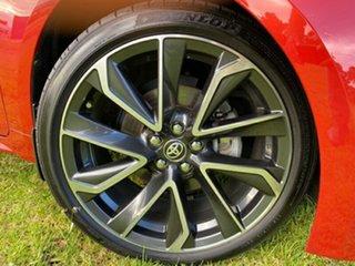 2018 Toyota Corolla ZWE211R ZR E-CVT Hybrid Red 10 Speed Constant Variable Hatchback Hybrid.